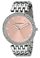 Vernier Paris Women's VNRP11186SS Analog Display Japanese Quartz Silver Watch