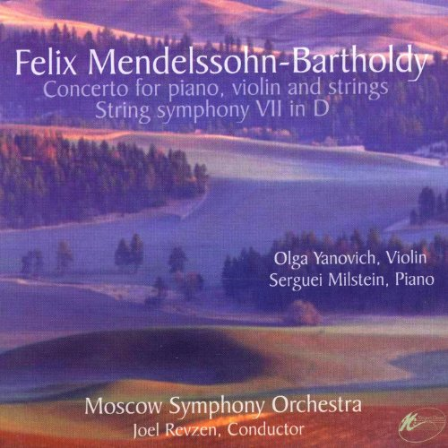 Felix Mendelssohn-Bartholdy: Concerto For Piano Violin & Strings / String Symphony VII In D - Felix Mendelssohn Violin Concerto