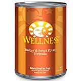 Wellness Complete Health Natural Wet Canned Dog Food, Turkey & Sweet Potato, 12.5-Ounce Can (Pack of 12)