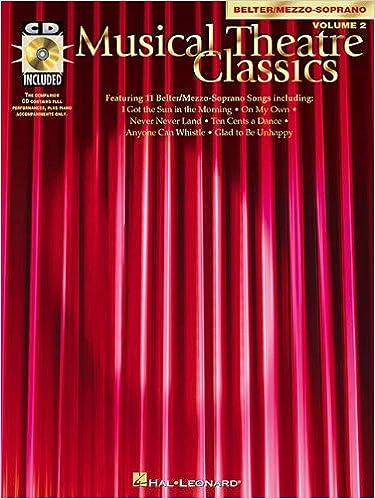 Lataa sähköisiä e-kirjoja Musical Theatre Classics: Mezzo-Soprano/Belter, Volume 2 (Piano-Vocal Series) PDF MOBI 0793562368