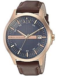 Armani Exchange AX2172 Watch, Men, Brown Leather