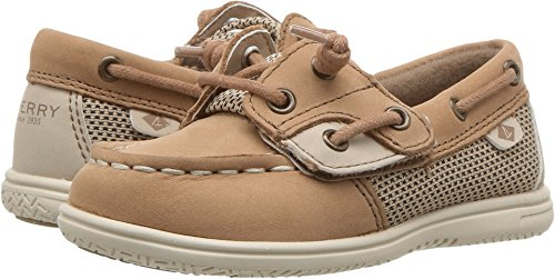 SPERRY Kids Baby Girl's Shoresider Jr. (Toddler/Little Kid) Linen/Oat 5.5 Toddler M M ()