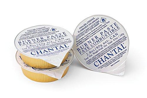 Chantal Fondue Y-Burner Paste Fuel 3 Pack
