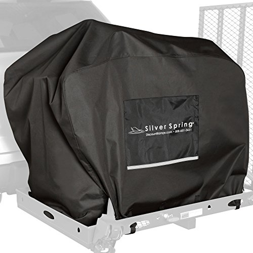 Water-Resistant Mobility Scooter Hitch Carrier Travel Cover by Discount Ramps