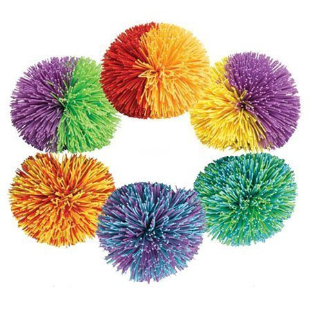 Koosh Balls - Colors May Vary- Pack of 2