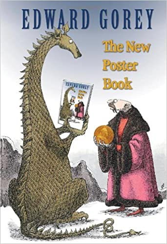 """EDWARD GOREY The Doubtful Guest From The Same 10/""""x 15/"""" Wall Art Poster Book Page"""