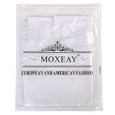 Moxeay Women's Adjustable Lace Trim Cotton Basic Cami Tops