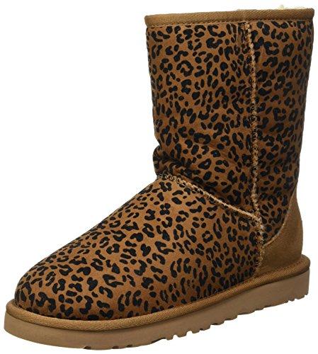 UGG Australia Classic Short Rosette, Botines para Mujer: Amazon.es: Zapatos y complementos