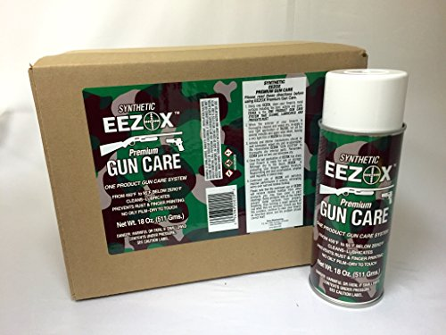 Eezox Premium Gun Care 18oz CASE -12 Cans