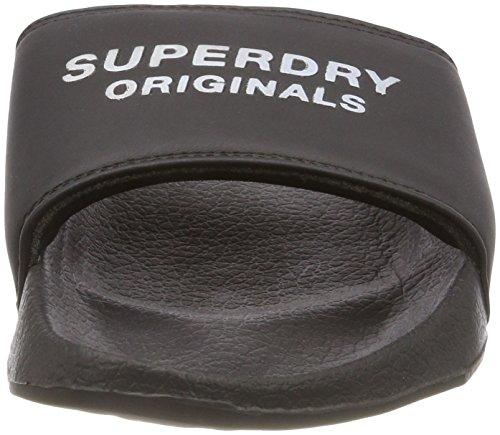 Originals Black Multicolore Slide Femme Tongs Superdry Mo9 Pool Iridescent FqdfwRY