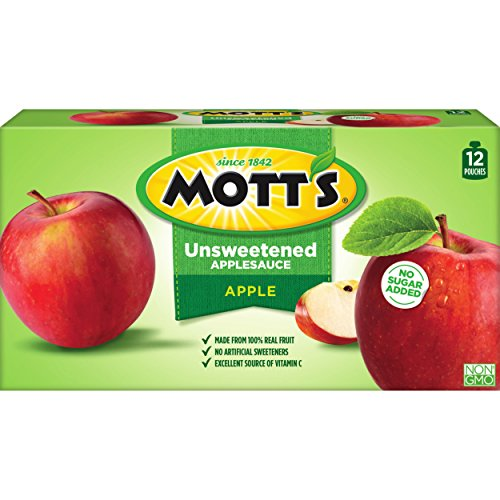Motts Unsweetened Applesauce pouches Pack product image
