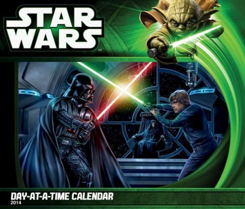 Star Wars - Saga 2014 Day At A Time Box Calendar by Trends International (2013-08-01)