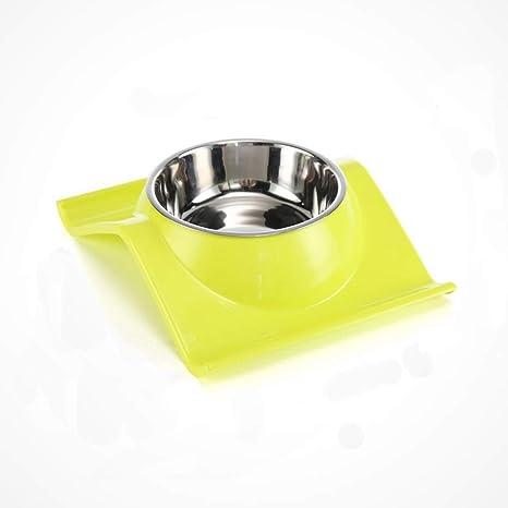 MXD Artículos para Mascotas Tazón para Perros Tazón para Gatos Tazón para Alimentos Tazón Simple Tazón