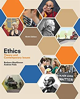 9781111185909 ethics theory and contemporary issues 7th revised.