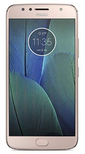 Motorola Moto G5S Plus XT1803 32GB Factory Unlocked GSM Smartphone, International Version, Blush Gold