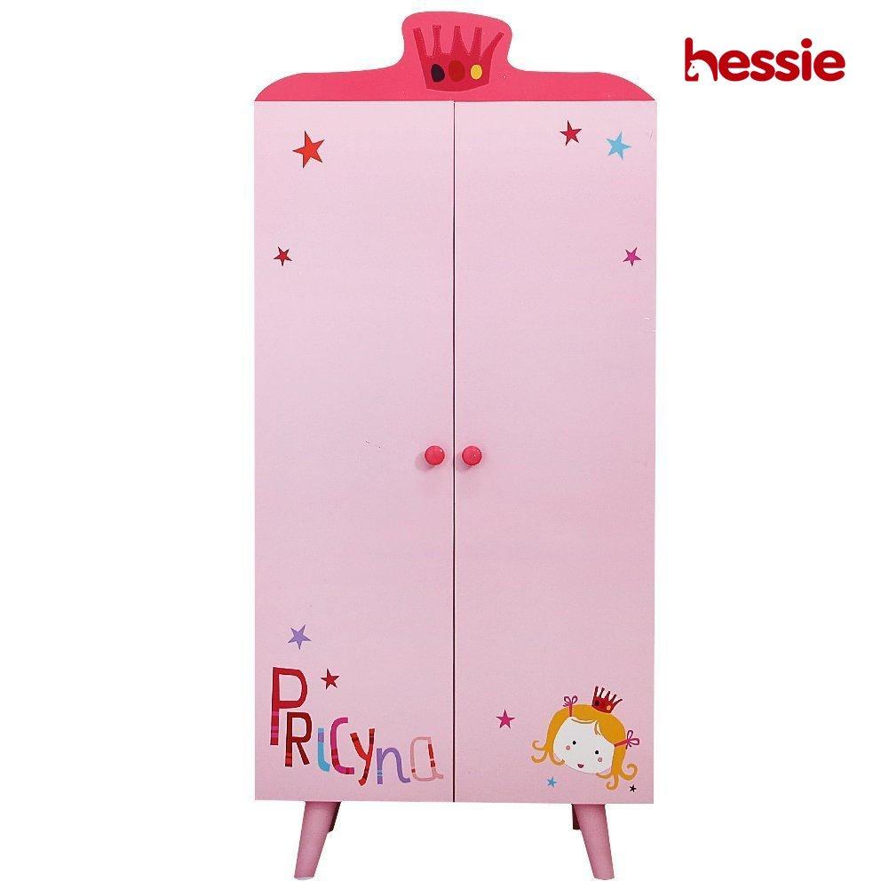 Hessie Children Wooden Clothing Rack - Pink Octopus