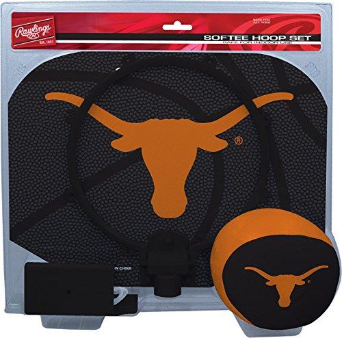 - Rawlings NCAA Texas Longhorns Kids Slam Dunk Hoop Set, Orange, Small