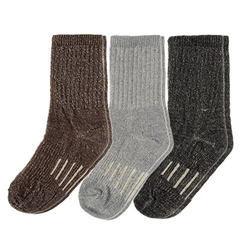 3-Pairs-Thermal-80-Merino-Wool-Socks-Thermal-Hiking-Crew-Winter-Mens-Womens-Kids