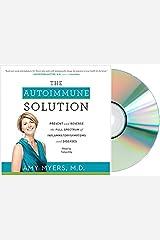 [The Autoimmune Solution Audio CD] Autoimmune Solution Audiobook by Myers Amy