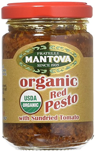 Mantova Pesto Red, 4.6 oz
