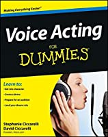 Voice Acting For Dummies Front Cover