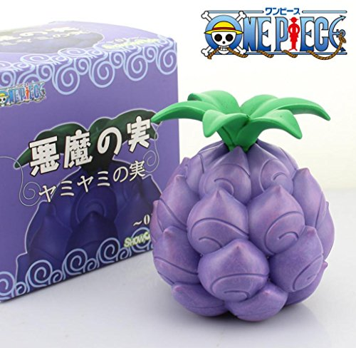 Cool One Piece Devil Fruit Marshall D. Teach Dark-Dark Fruit Yami Yami no Mi Boxed PVC Action Figure Model Toy