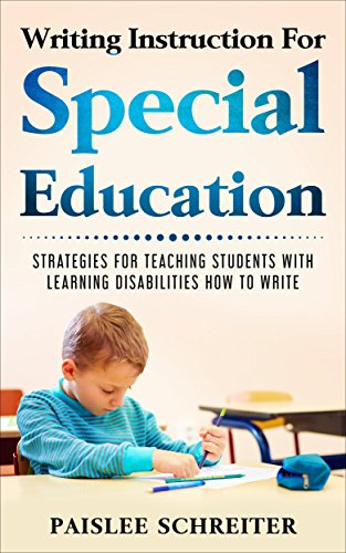 Amazon Writing Instruction For Special Education Strategies