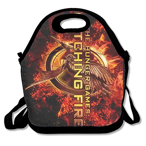 Catching Fire Travel Tote Lunch (Effie Trinket Clothes)