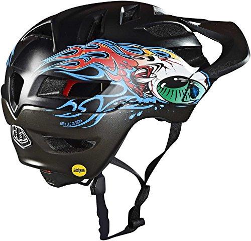 2018 Troy Lee Designs Youth A1 Eyeball MIPS Bicycle Helmet by Troy Lee Designs (Image #1)