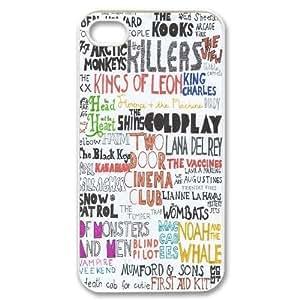 Custom Arctic Monkeys Fans Hard Plastic phone Case for Apple iPhone 4 4S RCX075138