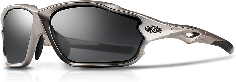 Sports Sunglasses Polarized TR90 UV400 Running Cycling Fishing Glasses Men Women