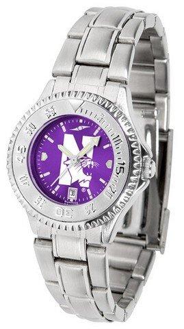Ladies Watches Northwestern Wildcats - Northwestern University Women's Watch Stainless Steel Logo Watch