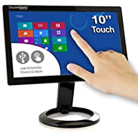 DoubleSight Smart USB Touch Screen LCD Monitor, 10 Screen, Portable No Video Card Required PC/MAC