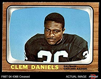 1966 Topps   107 Clem Daniels Oakland Raiders (Football Card) Dean s Cards  3 - fbcaf6b891ccd