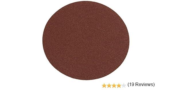 Silverline 583264 - Discos de lija autoadhesivos 150 mm, 10 pzas Grano 80: Amazon.es: Bricolaje y herramientas
