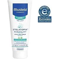 Mustela Stelatopia Bálsamo Emollient, rica crema diaria para bebé para piel extremadamente seca a eczema, sin fragancia…