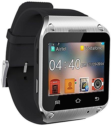 0cf72268123 Spice Dual-SIM Smart Pulse Smartwatch (Black)  Amazon.in  Electronics