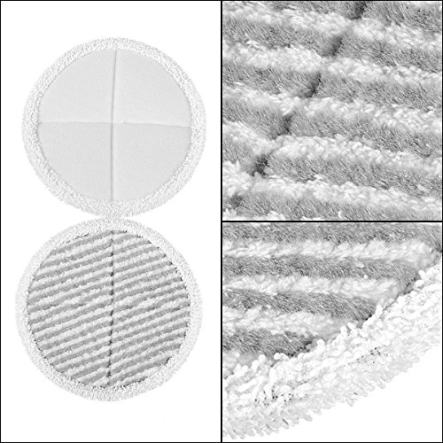 4 Pack Mop Pads for Bissell Spinwave 2039A 2124 Powered Hard Floor Mop by Ximoon (Image #4)