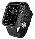 Apple Watch Case 42MM, SGM (TM) Flexible Silicon Armor Full Body Case Cover For Apple Watch 42MM (For 42 MM Apple Watch Only) (Black) Reviews