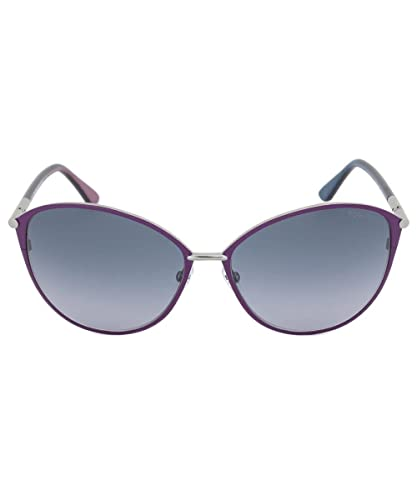 00f8f1bc88 Tom Ford TF 320 14B Penelope Purple   Grey Sunglasses  Amazon.co.uk   Clothing