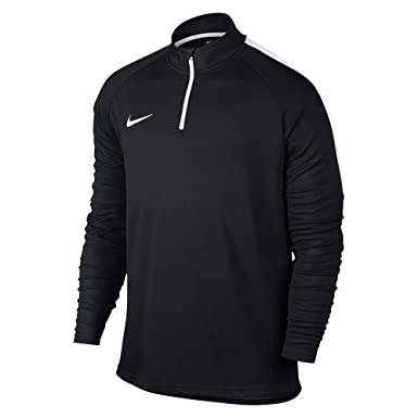 Nike Men's Dry Academy Drill Soccer Top 1/4 Zip Jacket (Small) Black