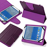 Insignia 7 Inch All Models (7pp) Universal Tablet Pc Case New Design , Ultra Slim , Low Weight and Fashionable (Only 7 Inch) (Purple)