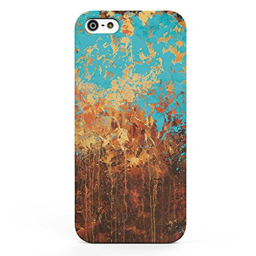 Koveru Back Cover Case for Apple iPhone 5S - Brushes Pattern