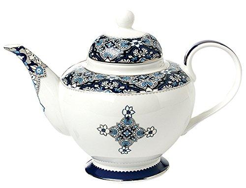 Jusalpha Elegant Vintage Venus Style Fine Bone China Teapot (E)