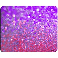 Rainbow Glitter Background Non-Slip Rubber Mousepad Gaming Mouse Pad Mat 01