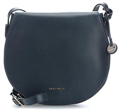 Coccinelle Clementine Soft Shoulder Bag dark blue