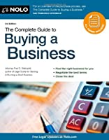 The Complete Guide to Buying a Business, 3rd Edition Front Cover