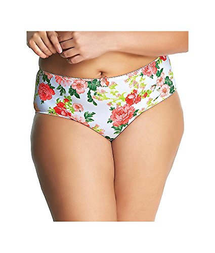 Goddess Women's Kayla Brief, Bella White, - Belle Briefs Womens