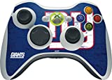 Skinit NFL New York Giants Xbox 360 Wireless Controller Skin - New York Giants Distressed Design - Ultra Thin, Lightweight Vinyl Decal Protection