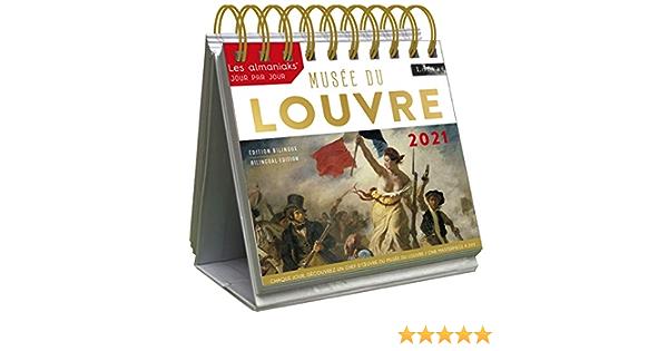 Le Grand Almaniak Musée du Louvre 2021 (ALMANIAKS PREMIUM) (French